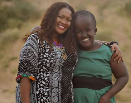 Ann Ngugi: My dream is to see my daughter stand strong on her own even when I am not there