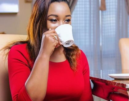 """Hydrating and guarding my heart!"" Trouble in paradise for Betty Kyallo and Somali boyfriend?"