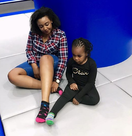 Dennis Okari worried of how Betty Kyalo is exposing their daughter online