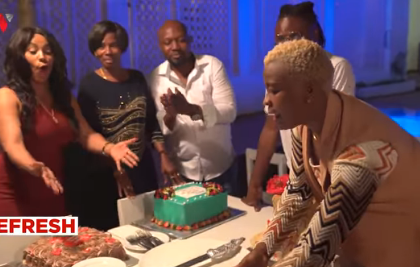 Video: Diamond's mother finally accepts Hamisa Mobetto's son