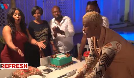 Video: Diamond's mother finally accepts Hamisa Mobetto's son