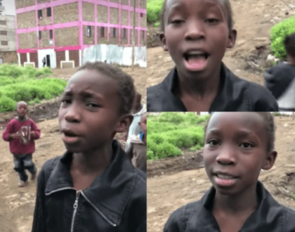 Githurai girl lands lucrative recording deal days after impressing the world