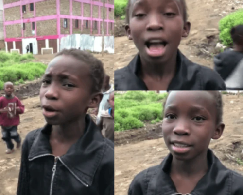 Bother of Githurai girl who sang Alicia Keys song beaten, family continues to get death threats