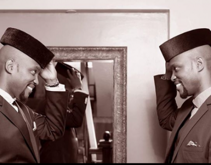 But who is who? Janet Mbugu's Hubby and twin brother launch new show