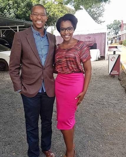 Wahiga Mwaura and Joyce Omondi back after vacay at Watamu (photos)