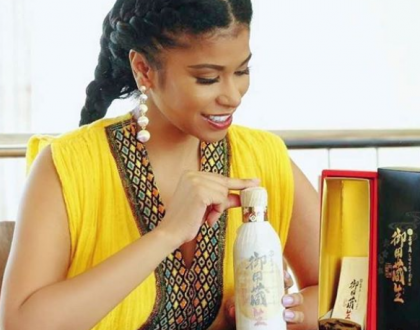 Julie Gichuru gets rare Japaneses gift