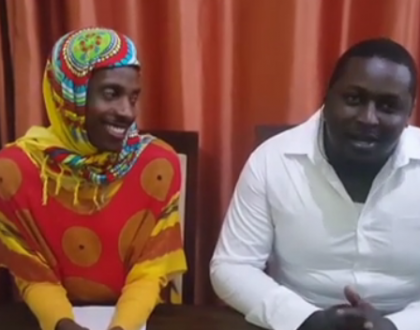 Lulu Hassan finally reacts to Eric Omondi's viral clip imitating her and hubby
