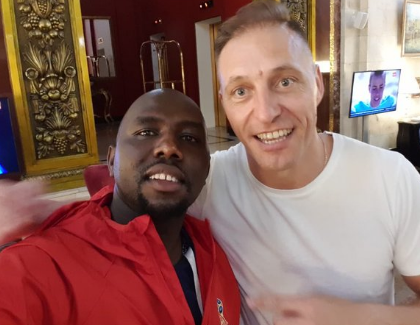 Sometimes you MPs behave like Otile Brown! Kenyans attack politician after taking pictures with referees