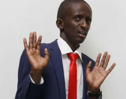 Comedian Njugush attacked by Kenyans after posting 'rape joke', forced to apologize