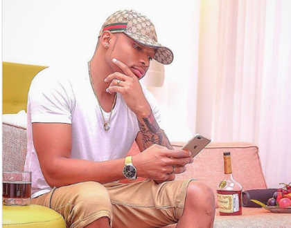 Vera's effect! Otile Brown surprises fans after stepping out wearing an underwear only( photos)