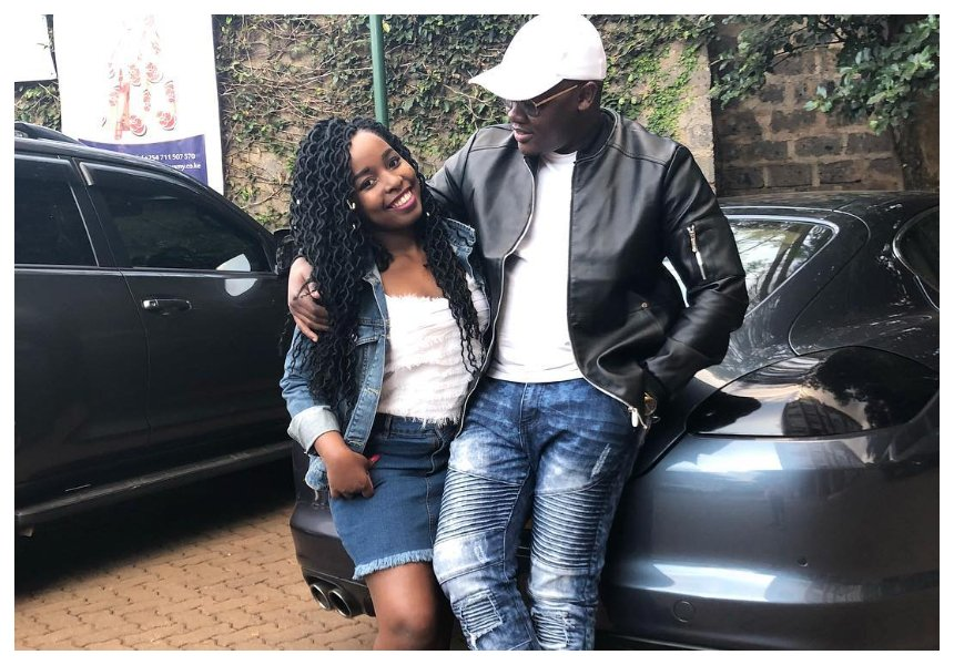Someone's husband my foot! Saumu Mbuvi flaunts engagement ring hours after accused of being a husband snatcher