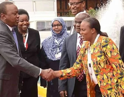 Uhuru's niece Nana Gecaga lands lucrative international job