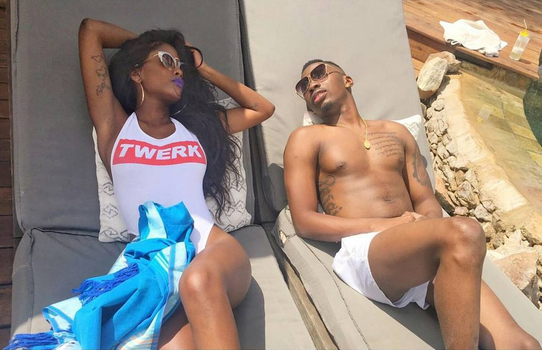 Vanessa Mdee and boyfriend Jux in trouble with the government after kissing on stage