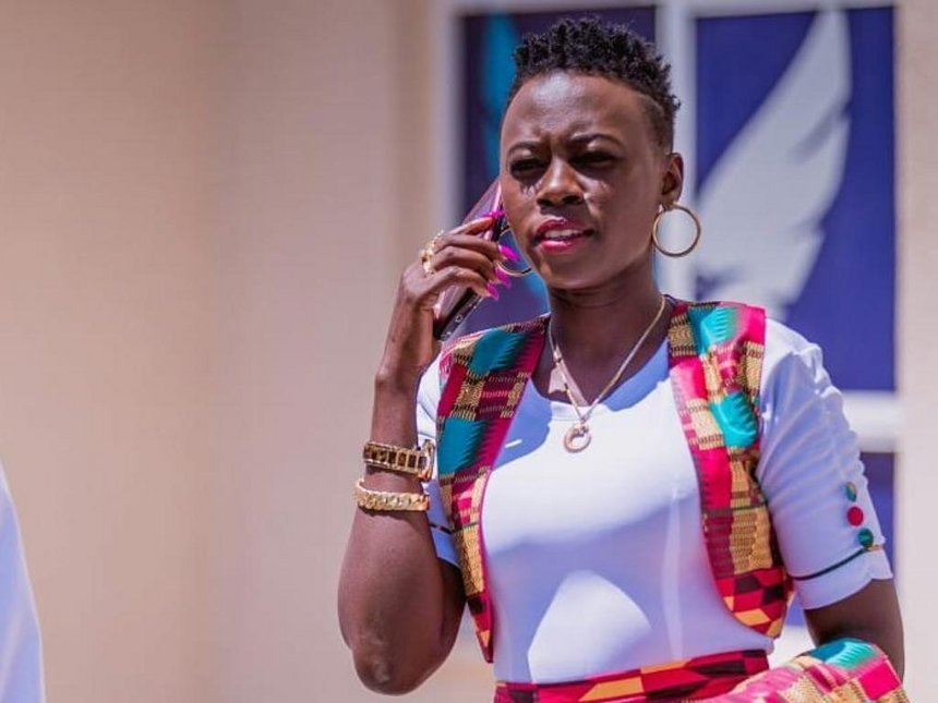 Akothee hospitalized after collapsing at the airport