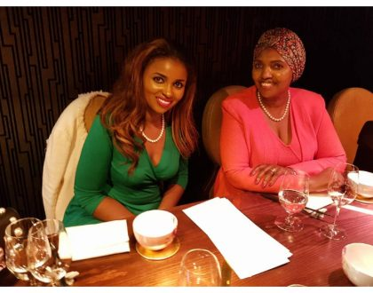 Mommy's money? Anerlisa Muigai ina war of words with a fan over her source of wealth