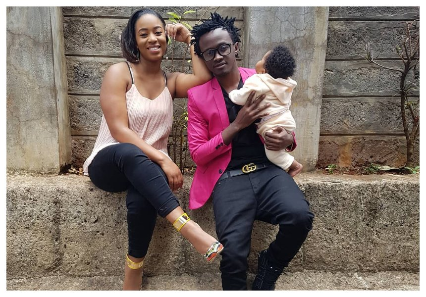 Diana Marua flaunts her daughter's ears after fans complained about the baby's ear piercings (Photos)