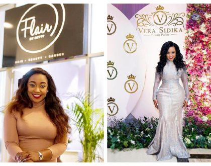 Betty Kyallo Vs Vera Sidika: Here are celebs who seek beauty services at Flair By Betty and at Vera Sidika Beauty Parlor (Photos)