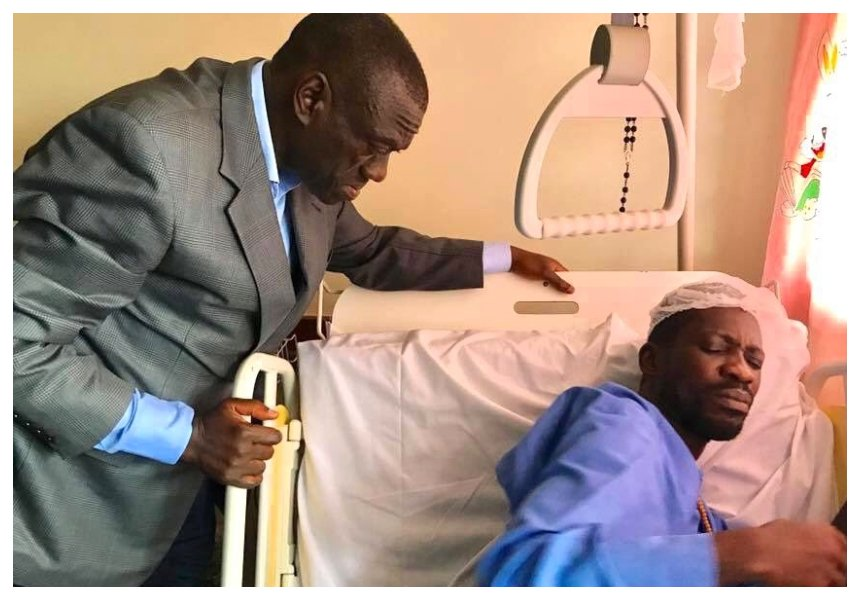 Bobi Wine Flies To Us For Treatment: Lawyer