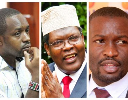 Boniface Mwangi comes out to advise Miguna Miguna after he loses Twitter war to Edwin Sifuna