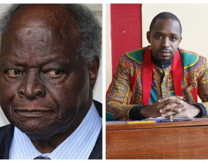 """""""Your security people hit me in the balls, I had to see urologist"""" Boniface Mwangi lists things he would tell retired president Kibaki if they meet"""