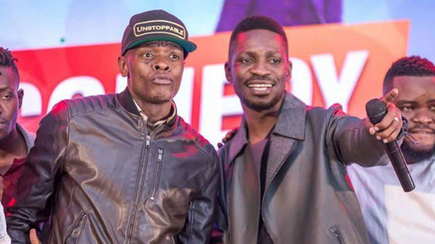 Jose Chameleone and Babi Wine