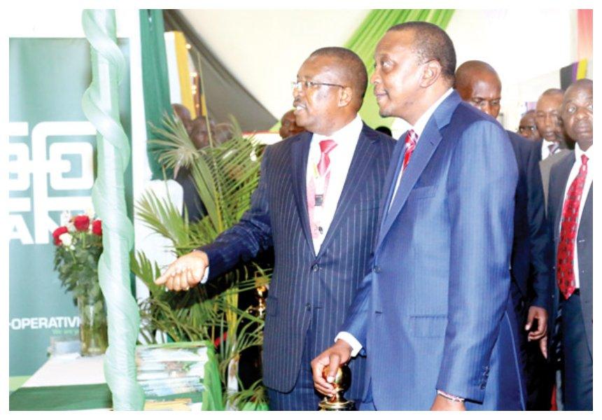 Uhuru's big four agenda receives a major boost fromCo-operative Bank