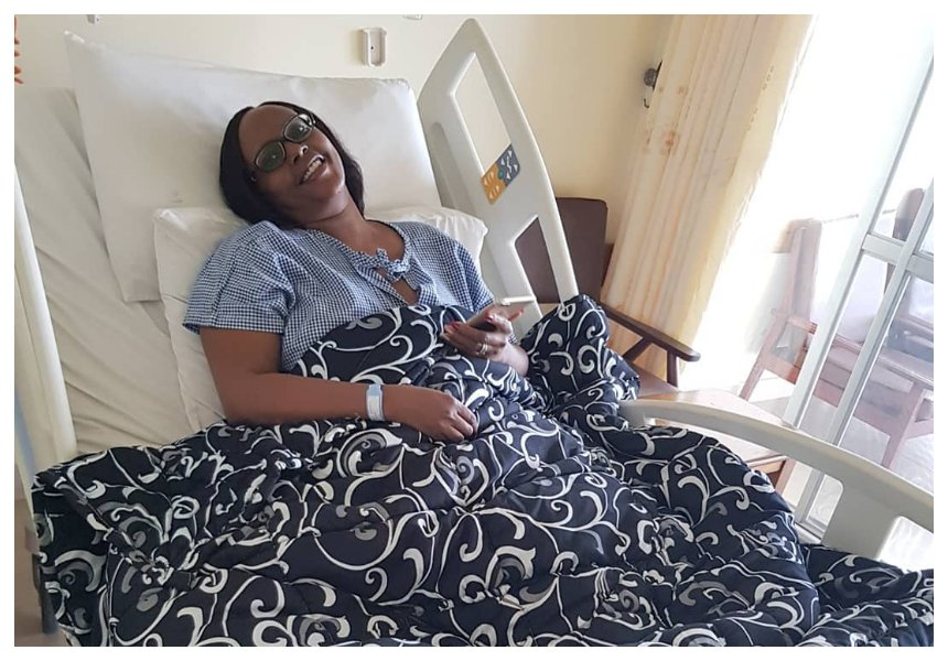 """""""Monthly treatment costs roughly Kes 350,000"""" DJ Creme's sister opens up incurable condition she is suffering from"""