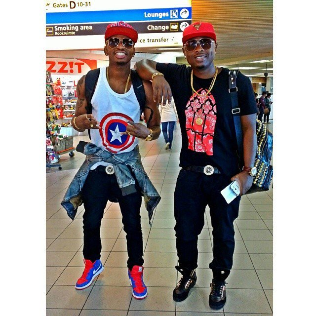 Ommy Dimpoz and Diamond Platnumz