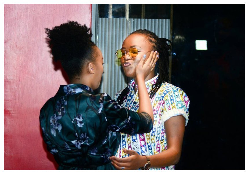 """I've come to see the love of my life,"" Edith Kimani and Fena Gitu continue to fuel lesbian rumor in new clip"