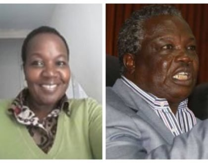 Mary Kilobi come see this! Atwoli kicks out 2nd wifeRoselinda Simiyu from Kileleshwa home (Photo)