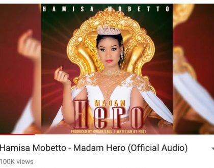 Hamisa Mobetto goes berserk on social media as her debut song garners 100k views in 24 hours