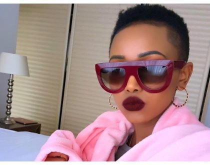 """You need to get a brain transplant "" Huddah Monroe savagely claps back at hater"