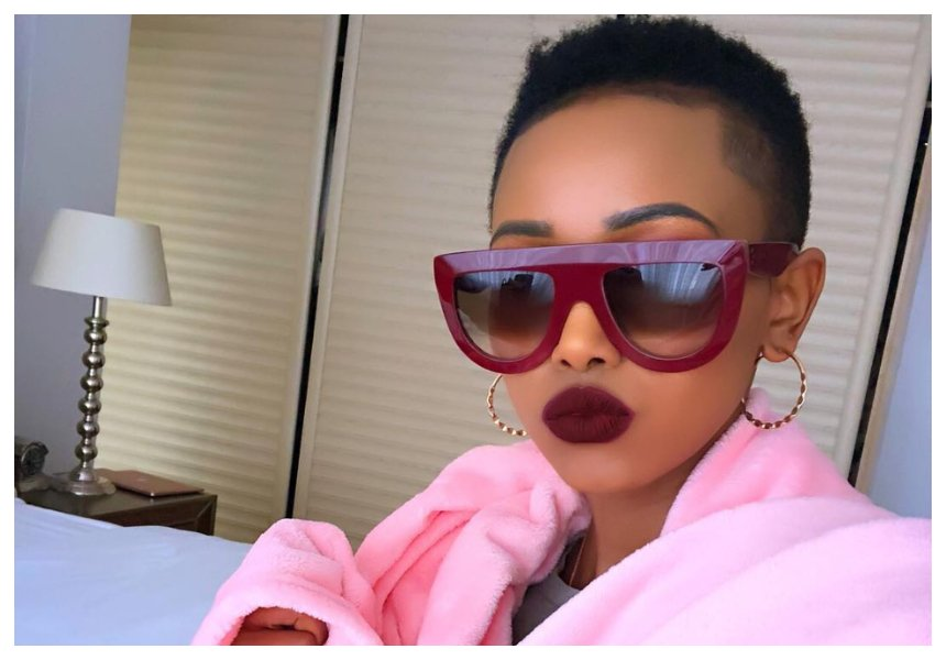 """""""You need to get a brain transplant """" Huddah Monroe savagely claps back at hater"""