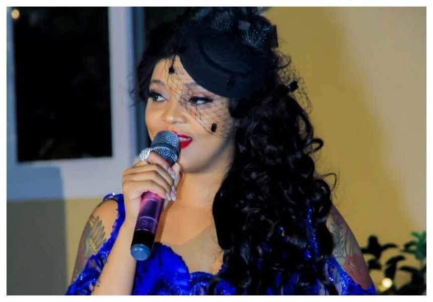 Jacqueline Wolper splashes Kes 300,000 to buy album of musician featured in King Kaka's song 'Radhi'