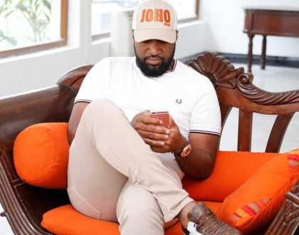 Governor Hassan Joho steps out wearing a T-shirt worth Ksh 55,000