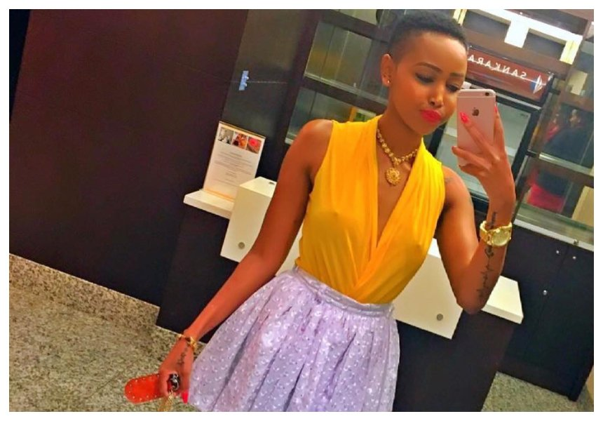 Huddah Monroe: Now I want to leave him so bad but it's hard as hell! D game so good I forgot the rules