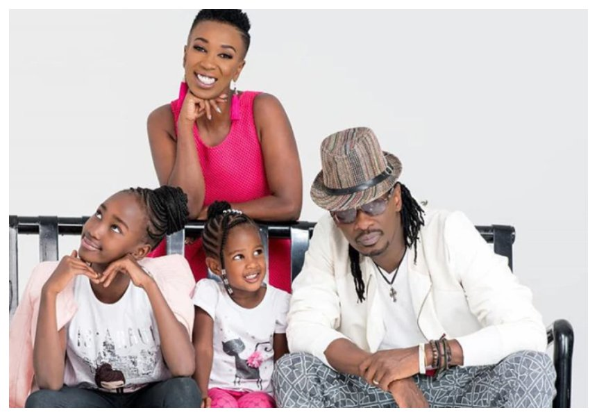 Nameless and Wahu pamper their last born daughter on her birthday