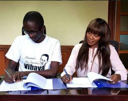 Njugush lands lucrative deal thanks to Terryanne Chebet