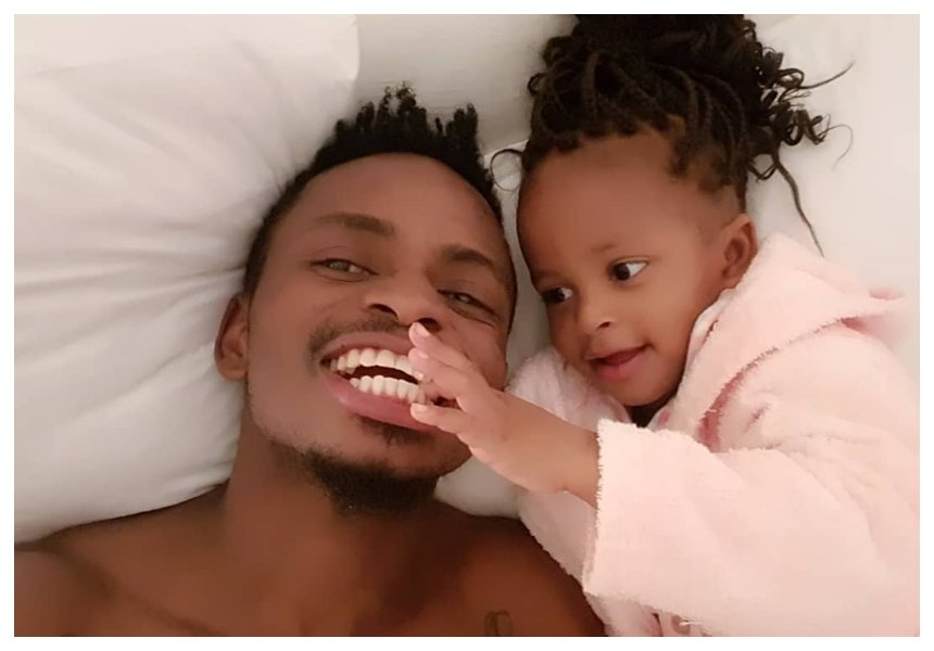 Daddy's girl! Diamond Platnumz spoiling daughter, Tiffah Dangote with expensive gifts (Video)