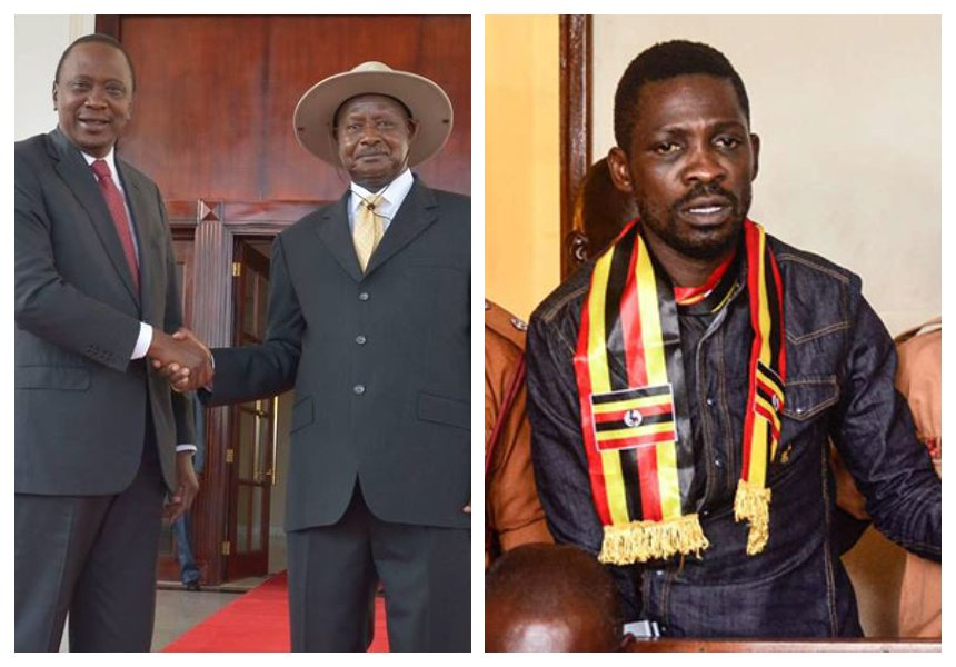Uhuru afraid of Museveni? Kenya's president speaks on the fate of Bobi Wine inWashington, D.C.
