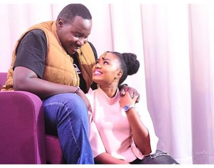 Willis Raburu's wife struggling to come into terms with the loss of their baby girl!