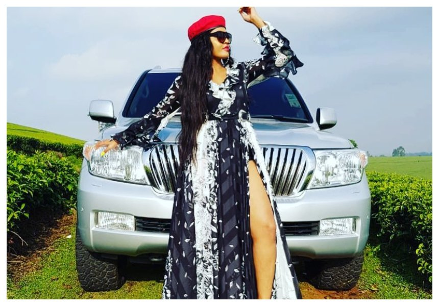 """Nkipata mwanaume kutoka Kenya ni mimba tu"" Hormonize's ex Jacqueline Wolper expresses desire to date Kenyan man"