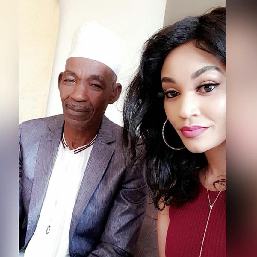 Zari Hassan with her father Nasur Hassan