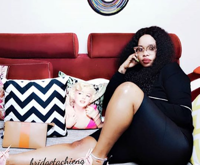 Socialite Bridget Achieng is pregnant. Who is the father?