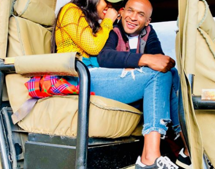 Second wife's time! Socialite Amberay enjoy Safari with rich politician husband(photos)