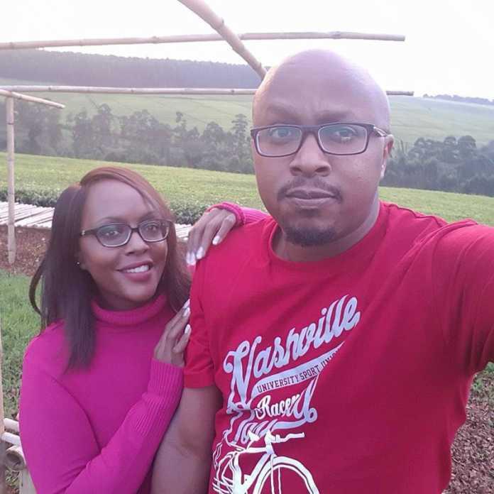 DJ Creme De La Creme and his sister Mary Murugi
