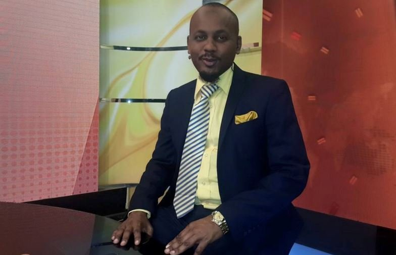 Former KTN anchor Ahmed Darwish who passed on in December 2015. He is survived by three children and wife Hawa Hussein Jamadar
