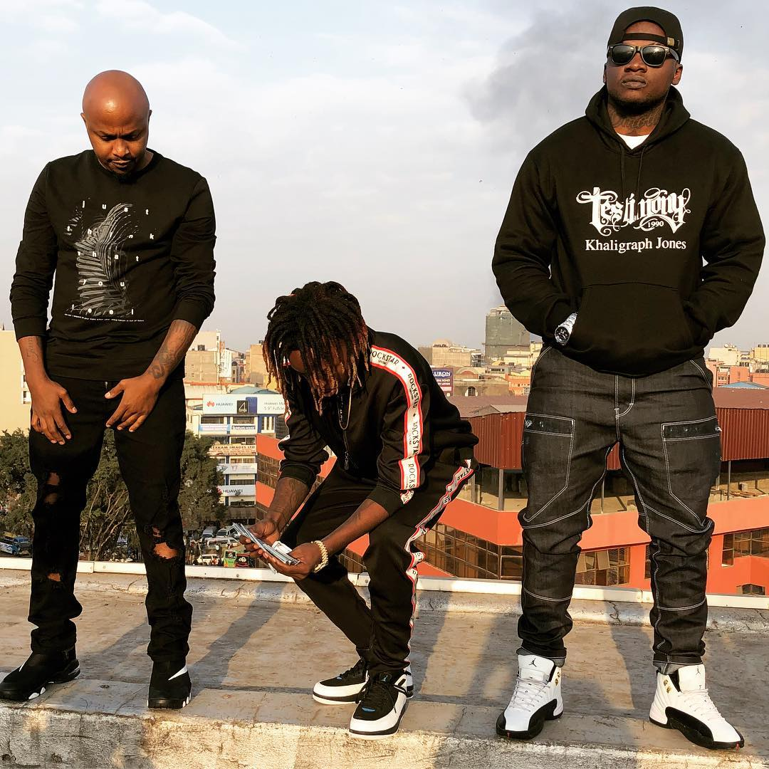 DJ Creme, Magix Enga and Khaligraph Jones
