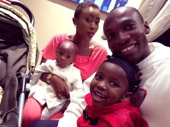 Dr.Ofweneke with Nicah and their children