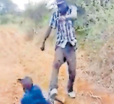 Man caught on video beating wife like a dog given a shocking 12 years prison sentence